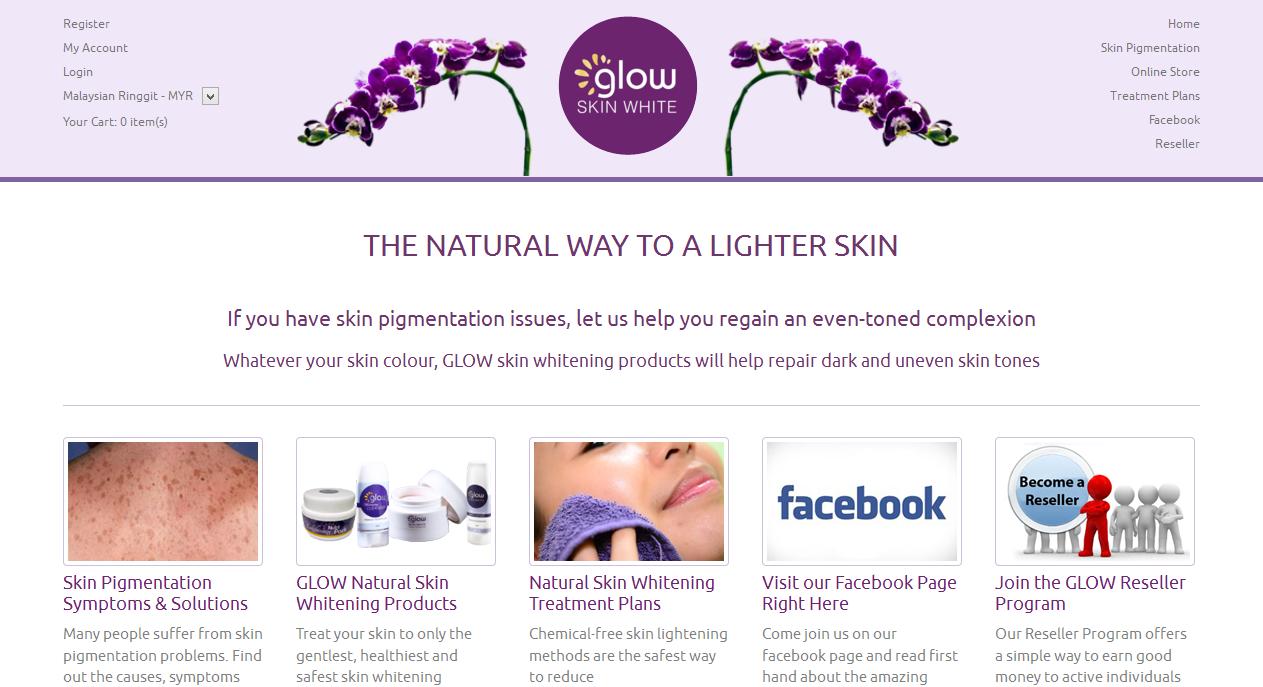 Glow Skin White